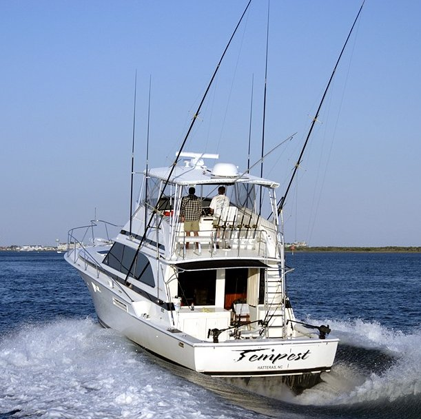 Charter Fishing Boat - Deep Sea Fishing